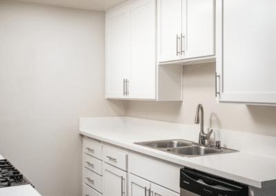 Modern, Stainless Steel Details kitchen